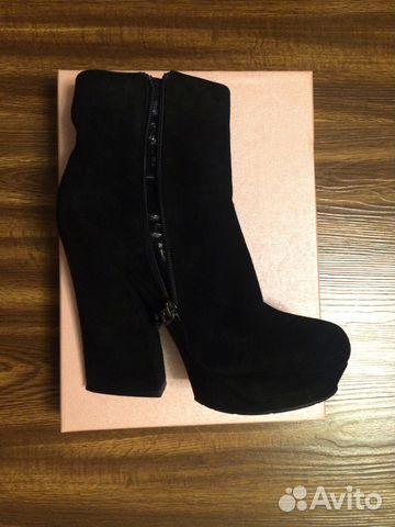 776bee8d0 Замшевые ботинки Calipso на платформе купить в Пермском крае на ...