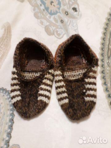 вязаные домашние тапочки носочки купить в хабаровском крае на