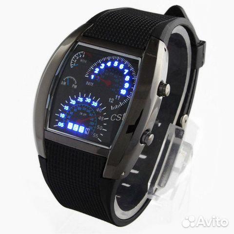 3d271e52 Наручные часы Спидометр Led Watch Sport Car купить в Брянской ...