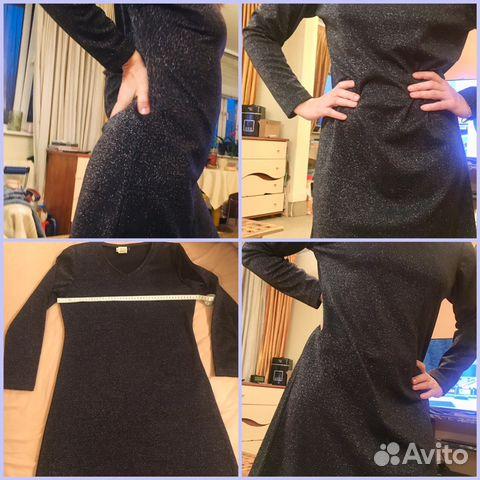 323a5fee072 Маленькое чёрное платье с люрексом купить в Москве на Avito ...