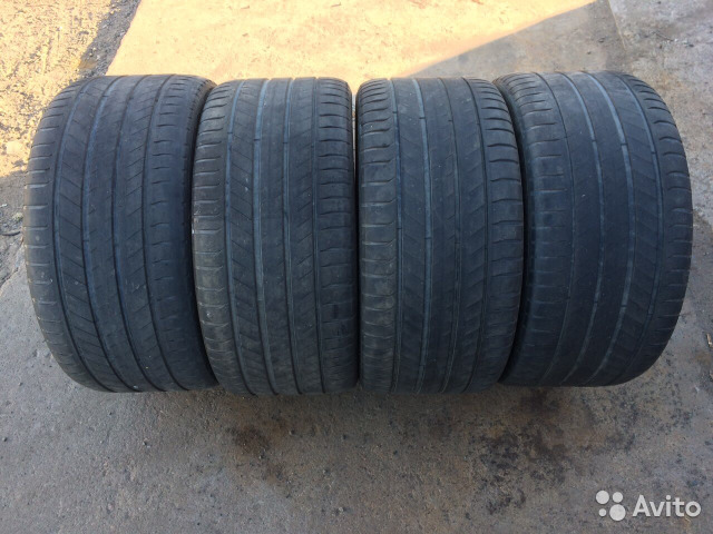 Комплект Michelin Latitude Sport3 295/35r21