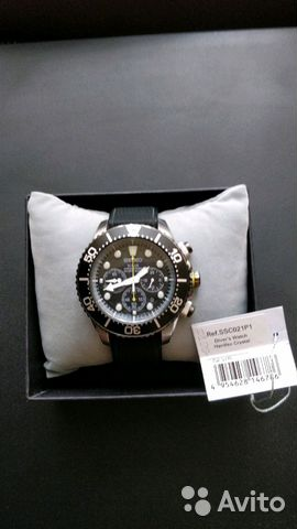 huge selection of 0f48c 53a47 Часы seiko Diver's watch 200m SSC021P1