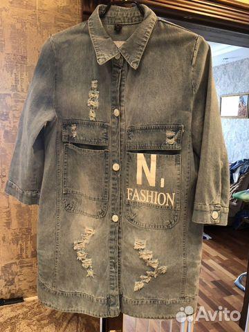 Куртка джинсовая 89021703087 купить 1