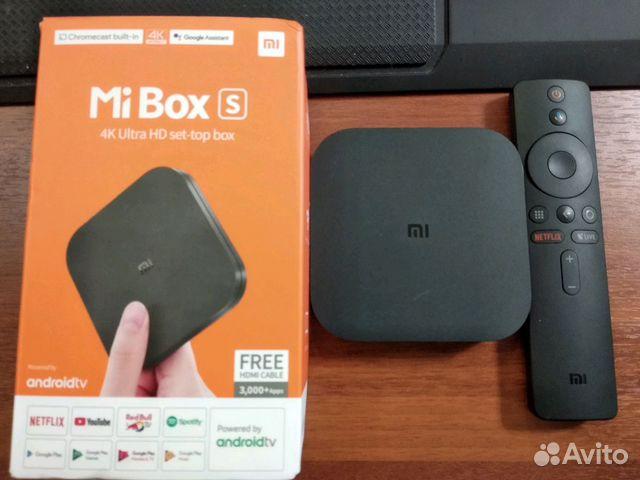 Xiaomi Mi box S + хаб купить в Московской области на Avito