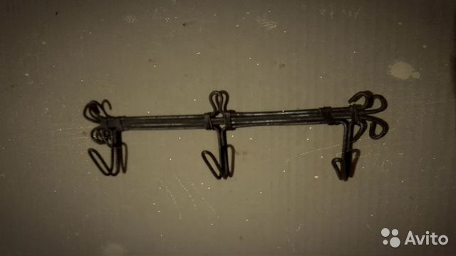 Старинная вешалка Царская Россия  89811595004 купить 4
