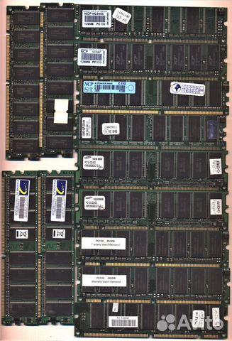 Оперативная память DDR 128Mb+256Mb  89040033245 купить 1
