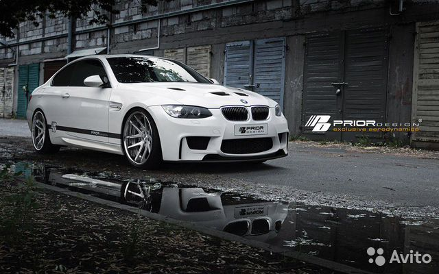 Бампер prior design BMW e92 рестайлинг— фотография №1