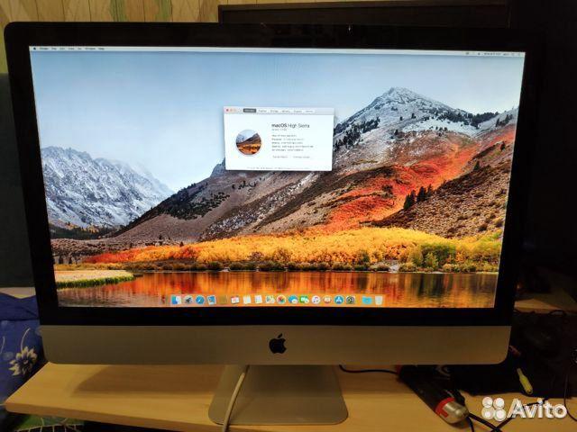 iMac 27-inch mid 2011 2.7/i5/8GB/HDD 1Tb/ 250SSD 89170812811 купить 1
