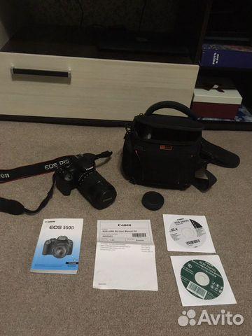Продам фотоаппарат Canon EOS 550D