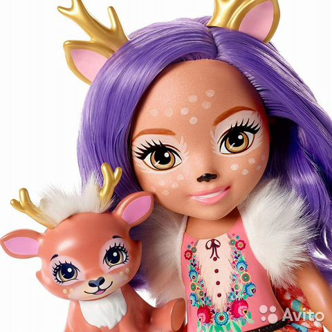 Enchantimals большая Кукла 31см в ассорт  89062132153 купить 7