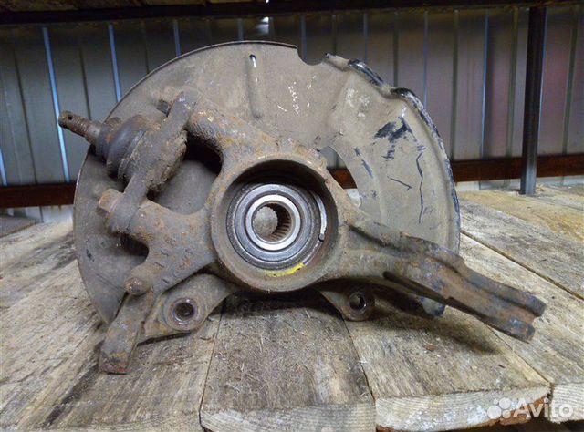 Кулак поворотный (цапфа) передний правый Kia