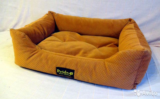 Лежак для кошек и собак Pride Престиж, 60х45х15 89036016062 купить 1