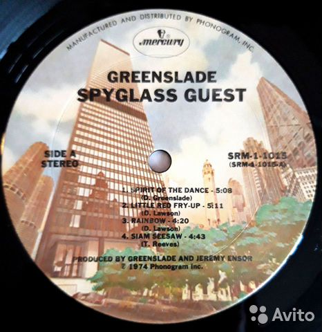 Greenslade Spyglass Guest USA  89528064665 купить 4