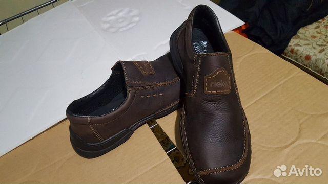 Кожаная обувь 45 размер (туфли)  89275064422 купить 3