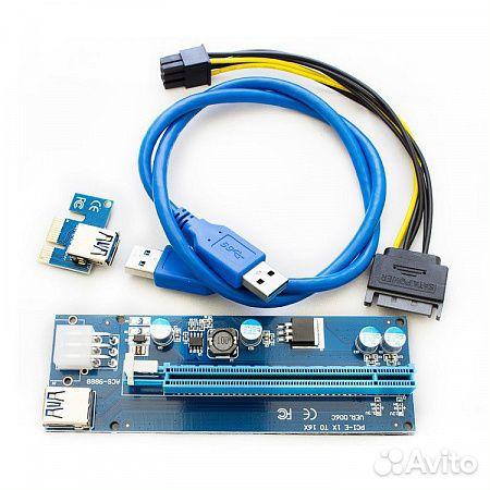 Райзер PCI-E Riser Card Ver.006C USB 3.0  89003558000 купить 1