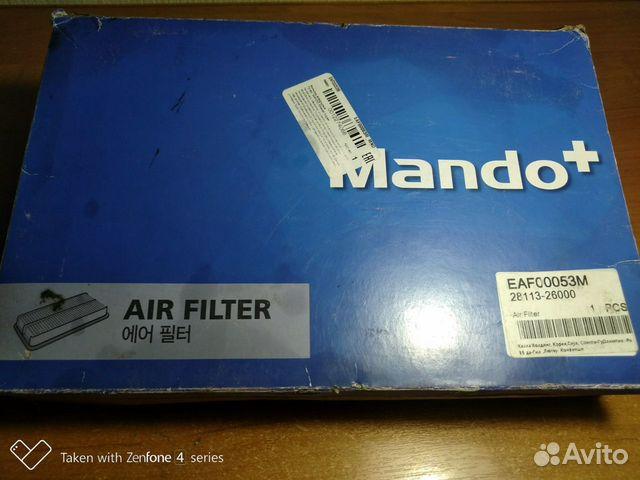 Фильтр воздушный Hyundai Santa FE  89649892108 купить 3