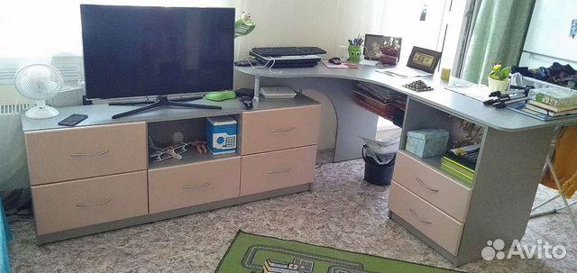 Компьютерный стол тумба для тв