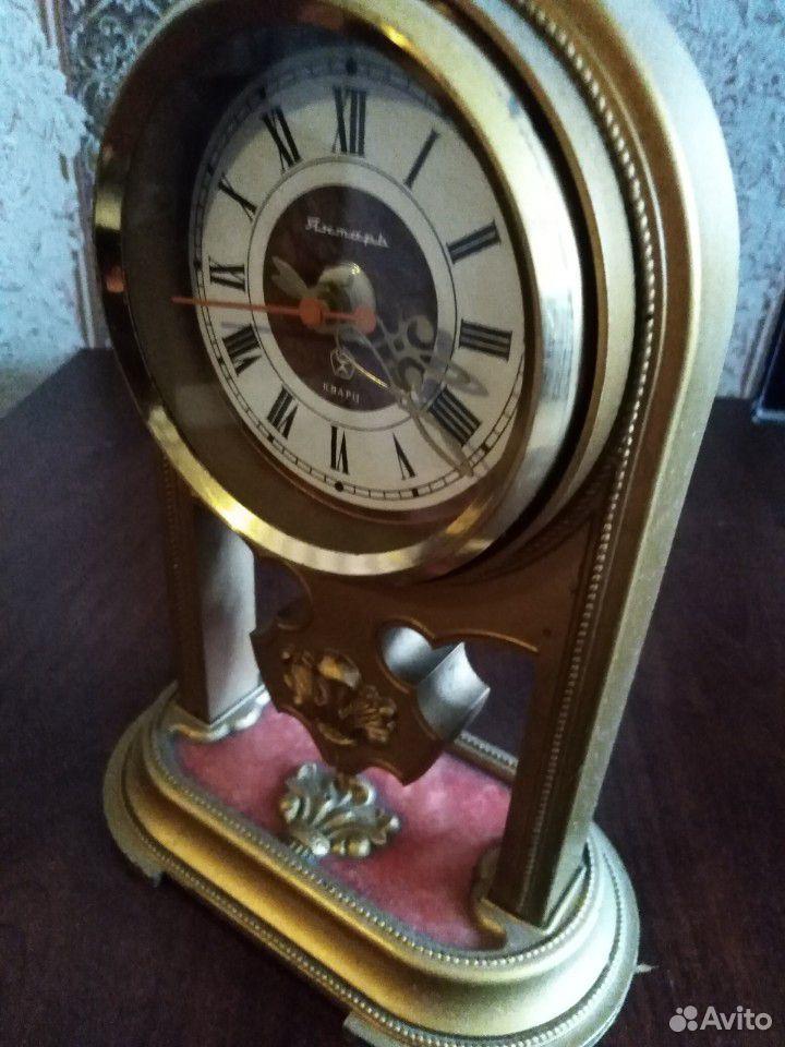 Настольные часы каминные