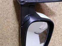 Боковое зеркало на Шеврале авео