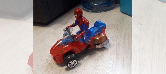Человек-паук на мотоцикле купить в Аннино | Личные вещи ...