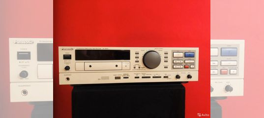Panasonic SV-3800 DAT Recorder Кассетная дека купить в Москве | Бытовая электроника | Авито