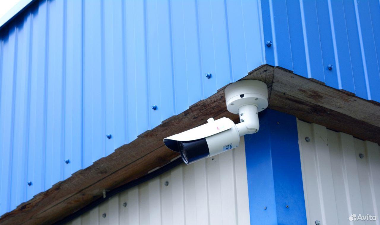 Камера с подсветкой для видеонаблюдения на гаранти
