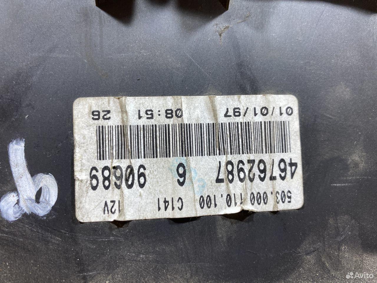 Панель приборов Fiat Doblo бензин 772097  89534684247 купить 5