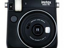 Instax Mini 70 Black. Фотоаппарат моментальной печ