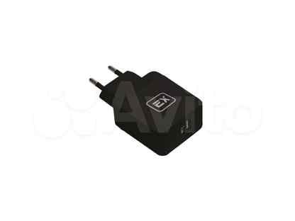 Сетевой адаптер 1USB 2.4A Exployd Sonder QC3.0 Black