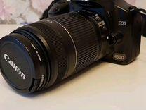Зеркальный фотоаппарат Canon EOS 450D — Фототехника в Москве