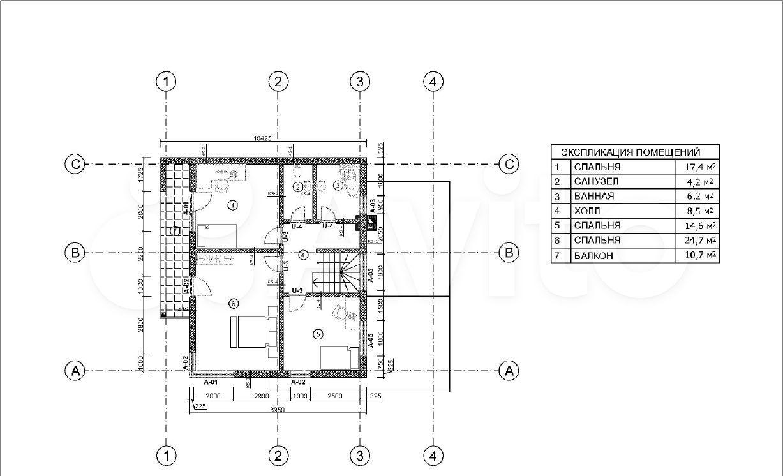 Дом 188 м² на участке 10 сот.  89095718016 купить 7