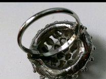 Винтаж: Коктейльное кольцо