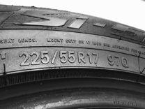 Пара зимние шины 225 55 17 Toyo Observe G3-Ice 97Q