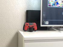 Sony PS4 slim 1TB (2 геймпада, док станция)