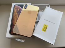 iPhone XS 512gb gold новый