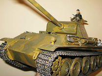 Немецкий танк пантера Heng Long Panther 1:16