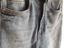 Джинсы Zara новые р 34 (росс 40) - высокая талия
