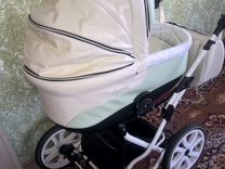 Детская коляска на больших колесах