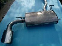 Глушитель на BMV X3 двигатель H47
