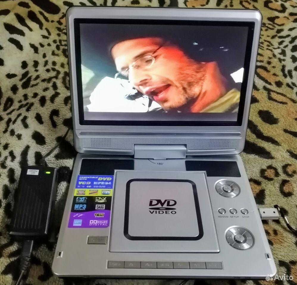 Портативный DVD с монитором Pioneer