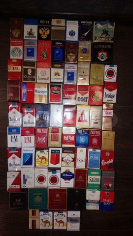 где купить пустые пачки сигарет