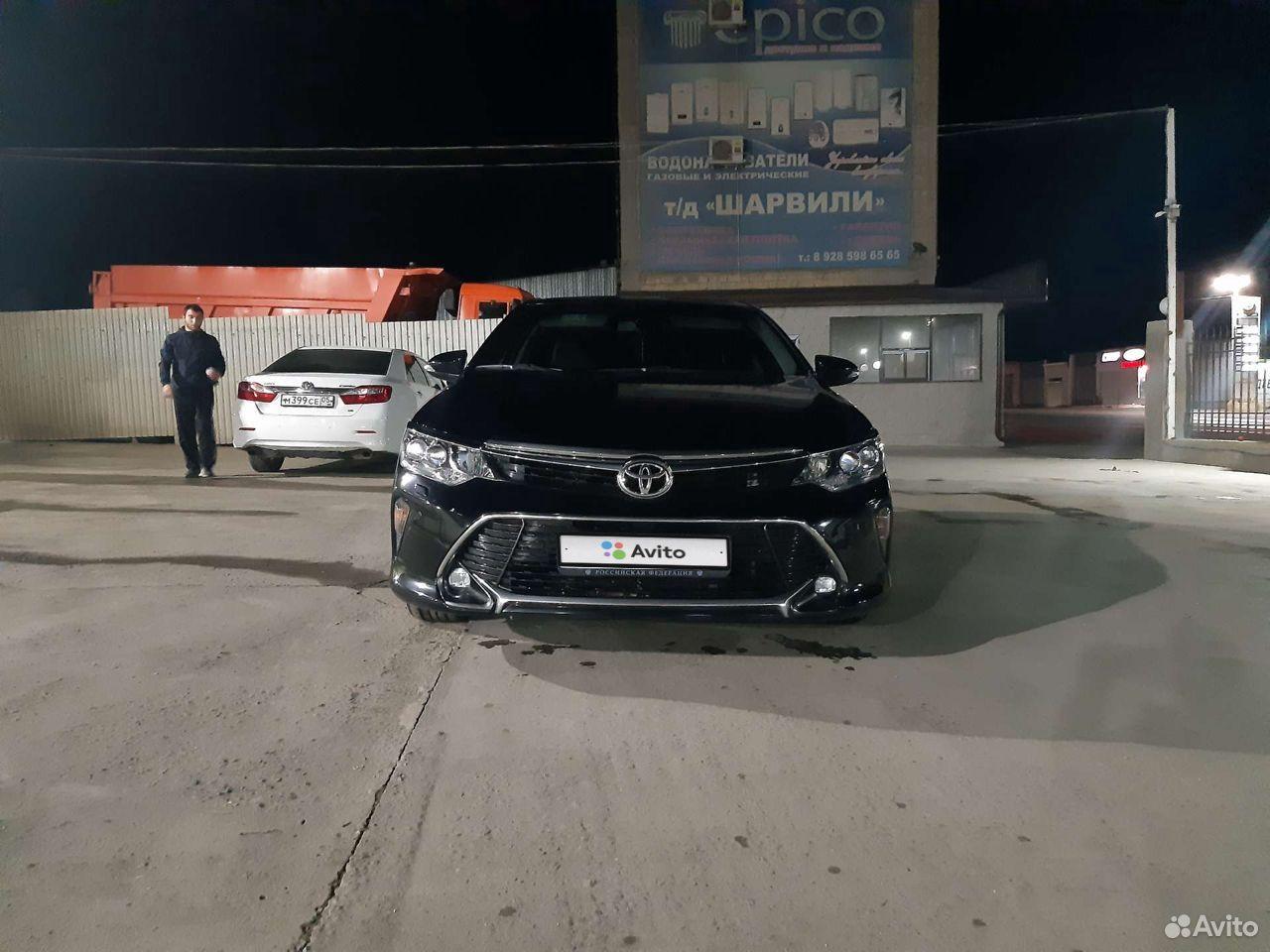 Toyota Camry, 2017  89640184886 купить 7