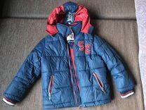 Куртка зимняя б/у размер 110