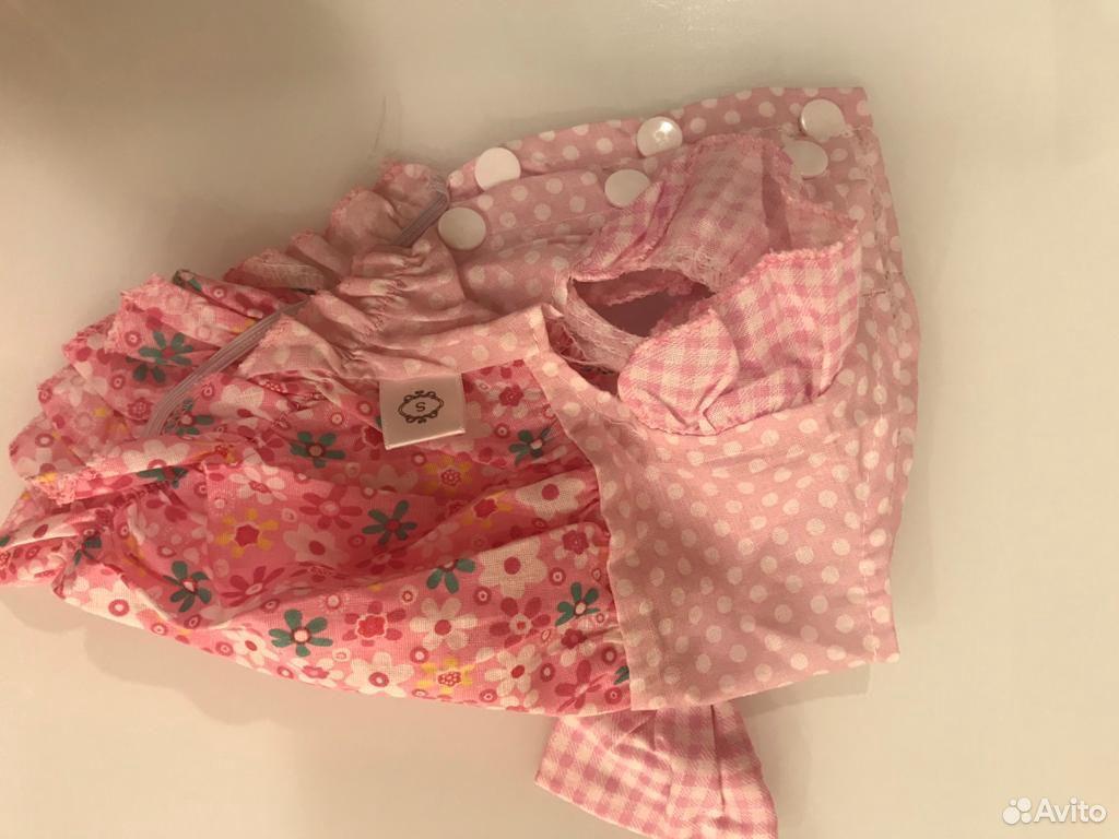 Платье для маленькой собаки размер s  89677666088 купить 1