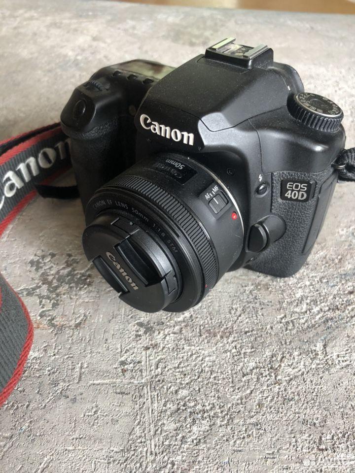Зеркальный фотоаппарат Canon 40d  89211806235 купить 2