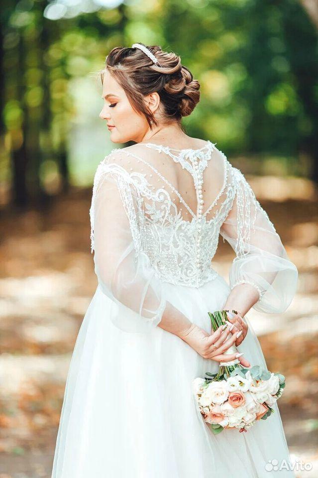 Платье свадебное 48-50 размер  89204772286 купить 1