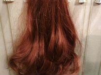 Шиньоны для волос на крабе (цвет каштановый)