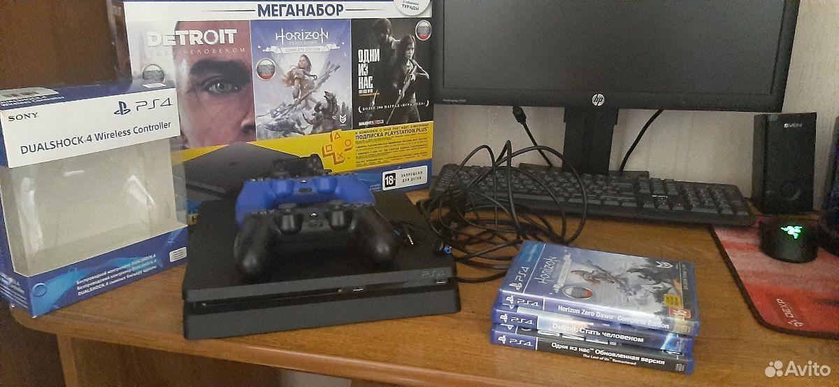 Sony PS4Slim 1TB  89888361173 купить 2