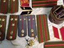Погон разные СССР осталось пустые