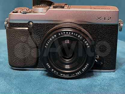 Fujifilm X-E2 + объектив XF27 mm F2.8